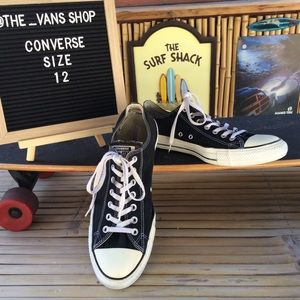 Converse All Star Canvas Low Top Sneakers Men's 12
